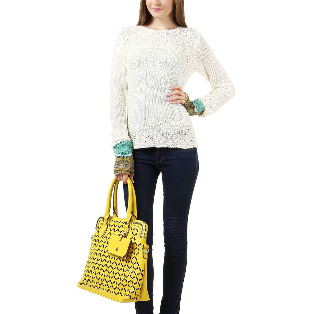 Cutout Tote Bag,Totes,Mad Style, by Mad Style