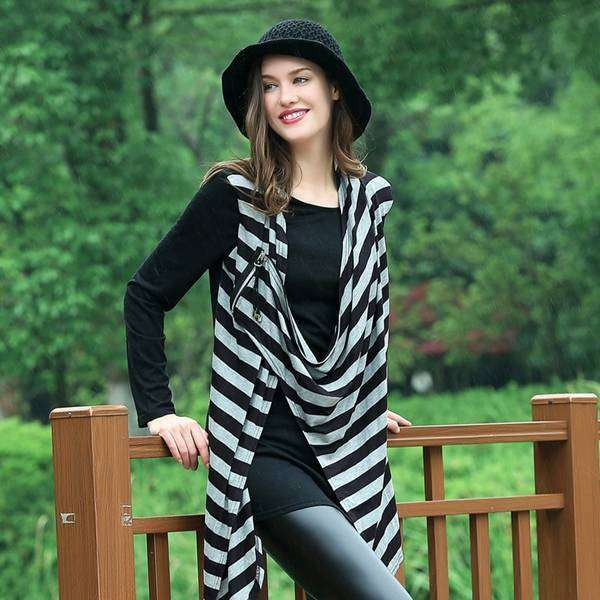 Dual Crossover Shawl,Tops,Mad Style, by Mad Style