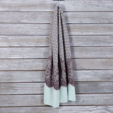 Egyptian Scallop Scarf