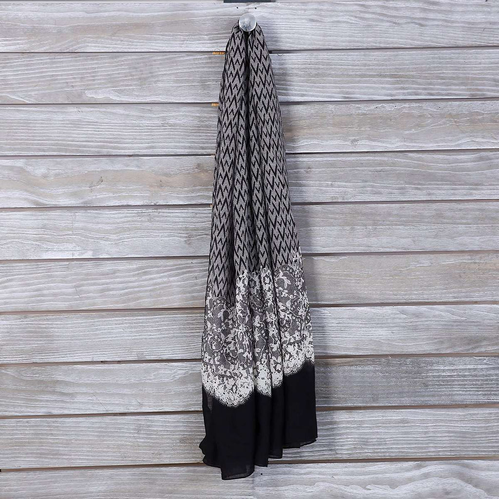 Egyptian Scallop Scarf,Light Scarves,Mad Style, by Mad Style