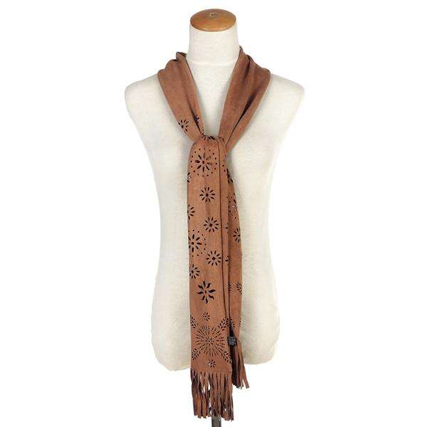 Faux Suede Skinny Scarf,Light Scarves,Mad Style, by Mad Style
