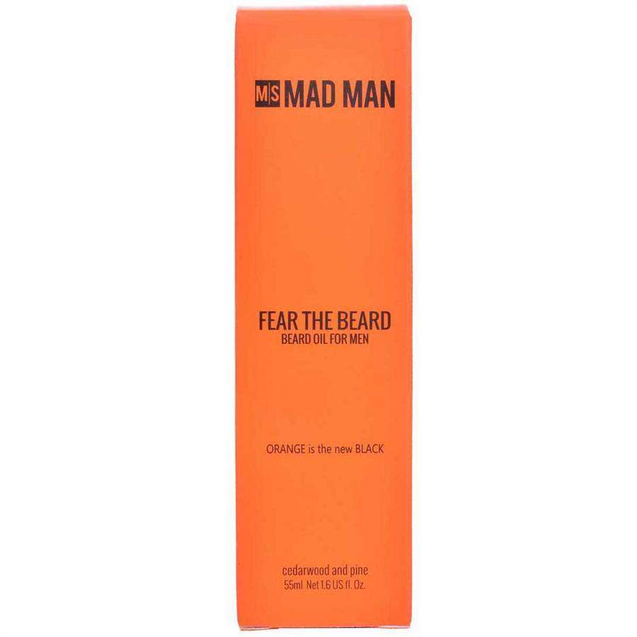 Fear The Beard | Beard Oil,Bath and Body,Mad Man, by Mad Style