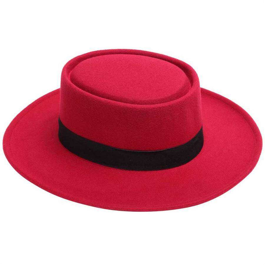 Felt Flamenco Hat,Hats and Hair,Mad Style, by Mad Style
