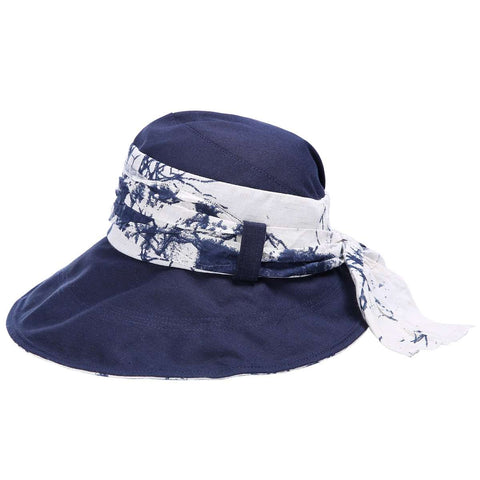 Floral Wire Brim Bucket Hat