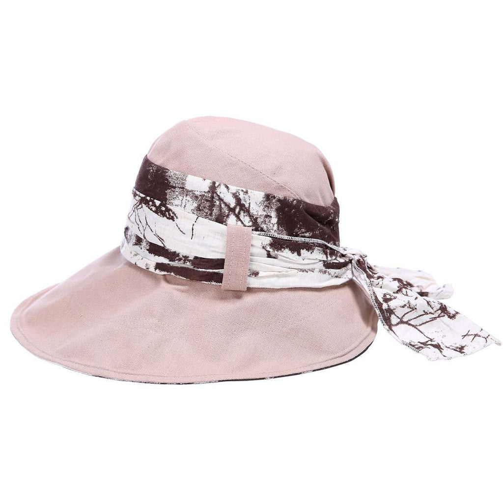Floral Wire Brim Bucket Hat,Hats and Hair,Mad Style, by Mad Style
