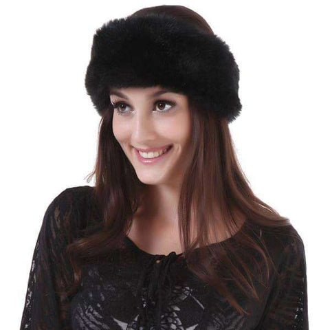 Fur Headwrap