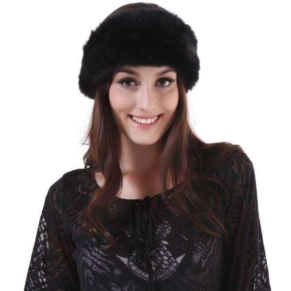 Fur Headwrap,Hats and Hair,Mad Style, by Mad Style