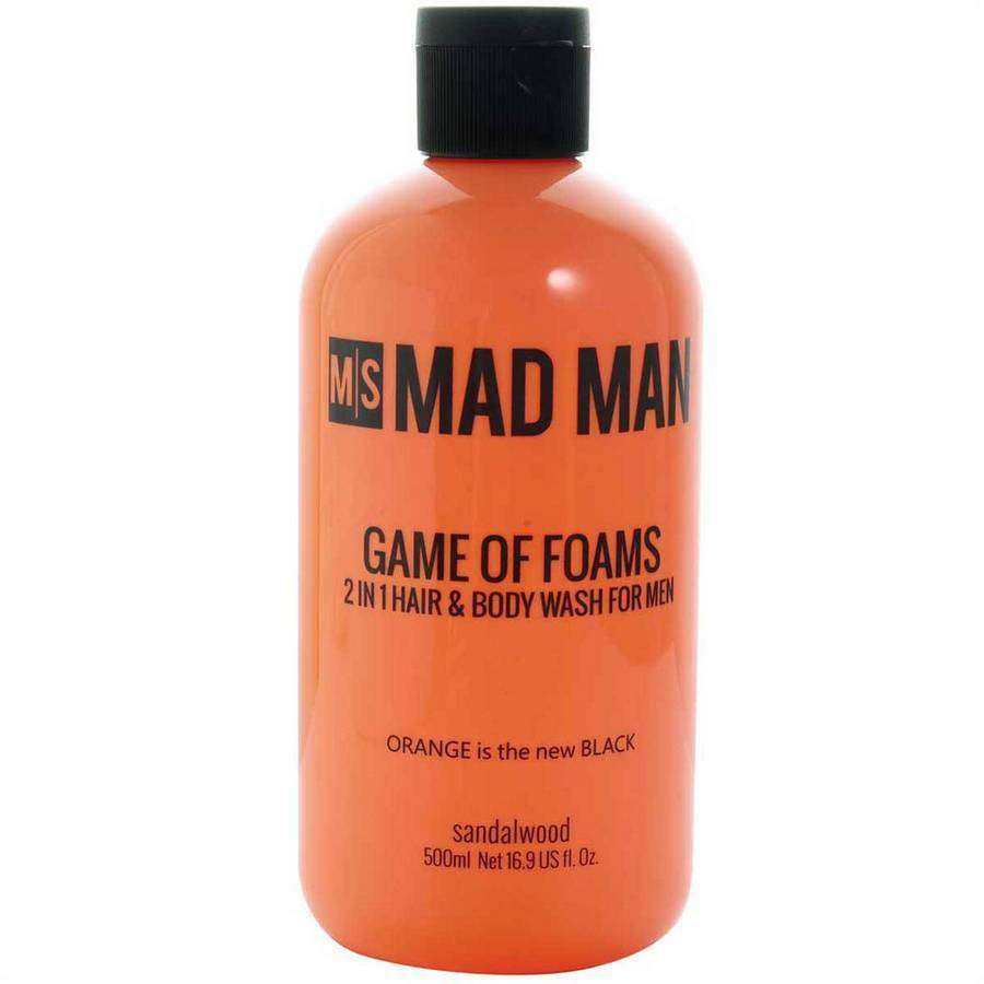 Game Of Foams | 2 In 1 Hair And Body Wash,Bath and Body,Mad Man, by Mad Style