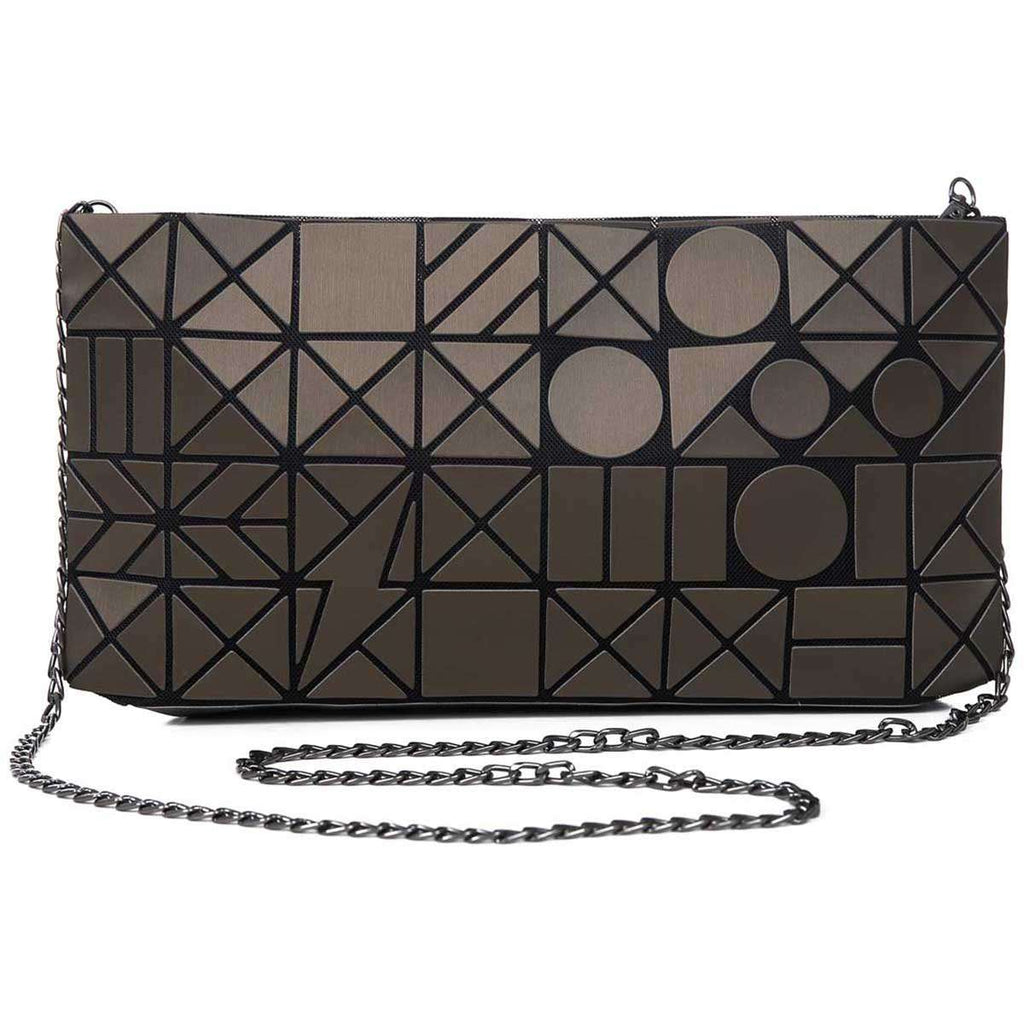Geometric Clutch Bag