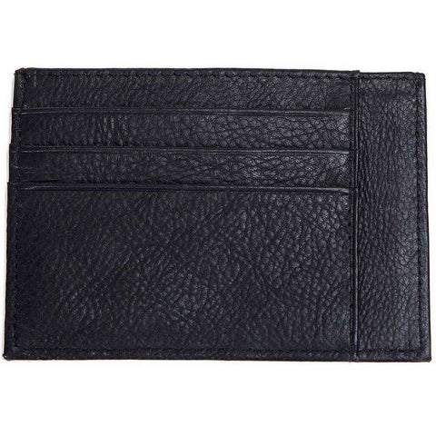 Grained Leather Two Sided Card Case