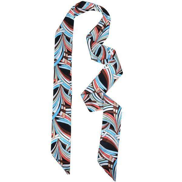 Harper Skinny Ties Scarf,Light Scarves,Mad Style, by Mad Style