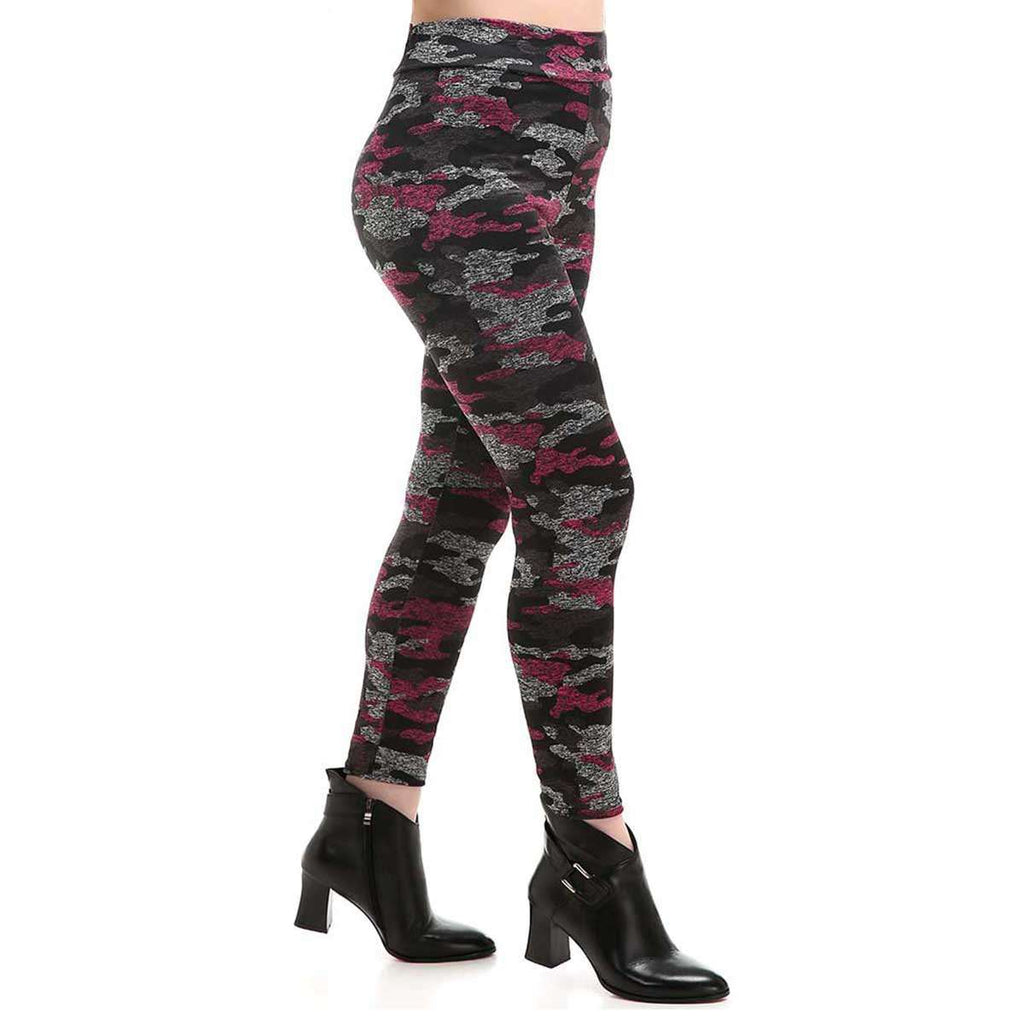 Heathered Camo Leggings,Bottoms,Mad Style, by Mad Style