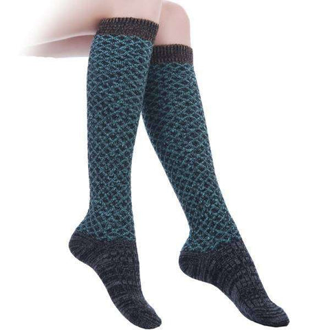 Heathered Knee High Socks