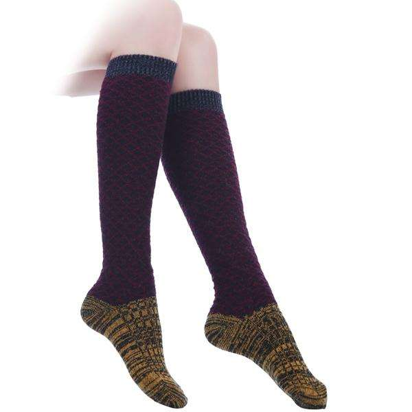 Heathered Knee High Socks,Bottoms,Mad Style, by Mad Style