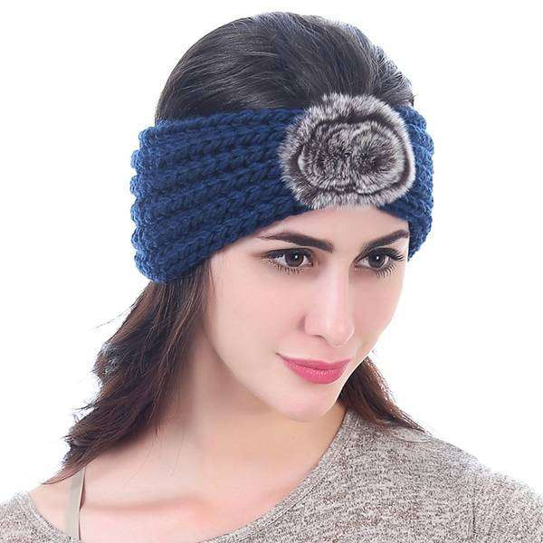 Knit Pom Headwrap,Hats and Hair,Mad Style, by Mad Style