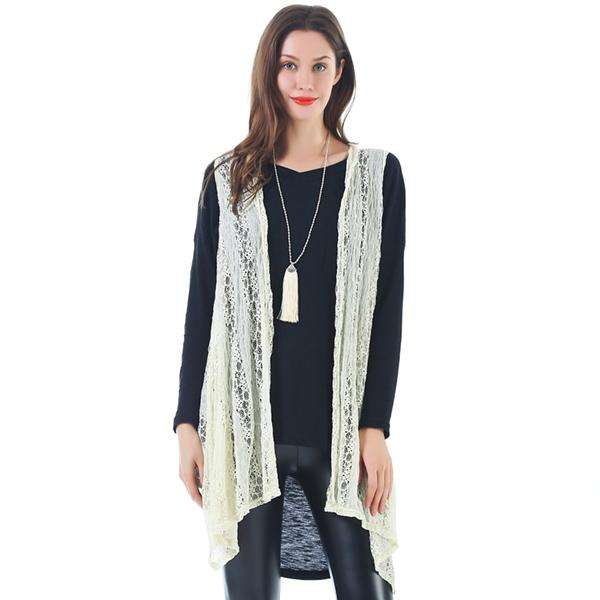 Lace Wrap Duster,Outerwear,Mad Style, by Mad Style