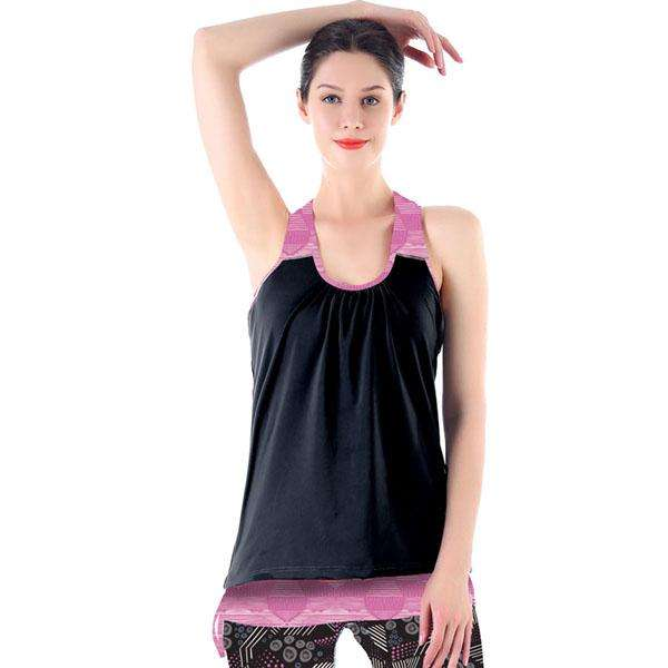 Layered Mad Motion Tank Top,Activewear,Mad Style, by Mad Style