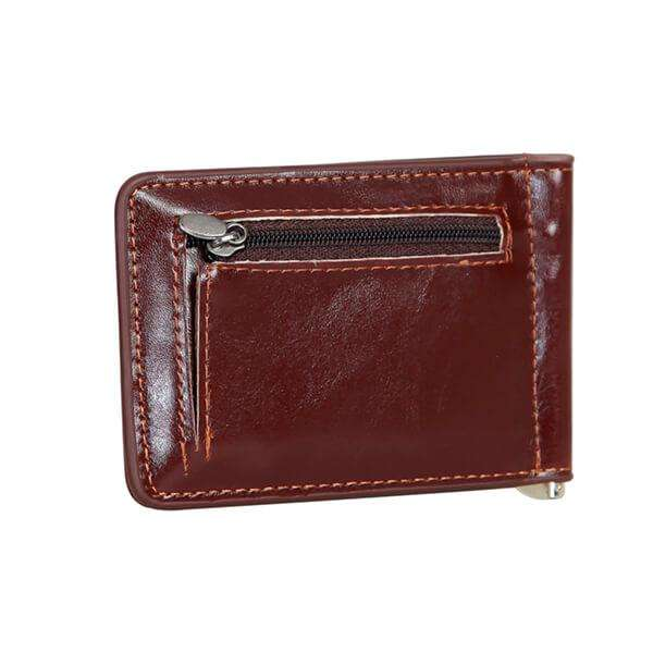 Leather Money Clip Wallet,Wallets and Clips,Mad Man, by Mad Style