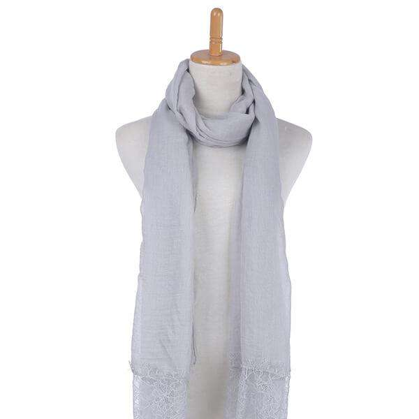 Linen Lace Scarf,Light Scarves,Mad Style, by Mad Style