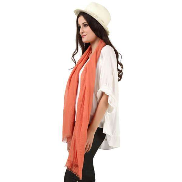 Linen Scarf,Light Scarves,Mad Style, by Mad Style