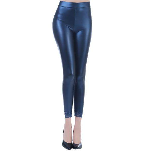 Liquid Matte Metallic Leggings,Bottoms,Mad Style, by Mad Style