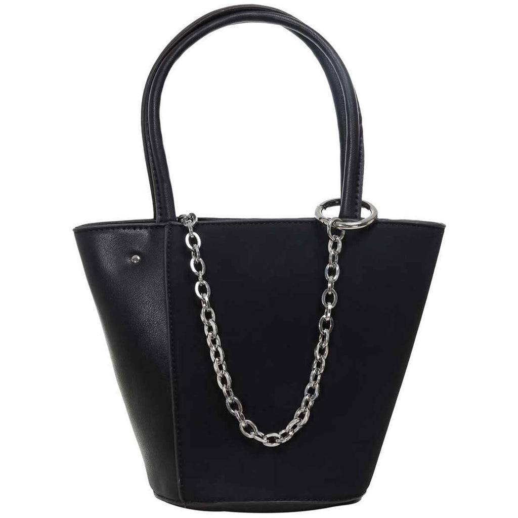 Loop Chain Bucket Bag,Satchels,Mad Style, by Mad Style