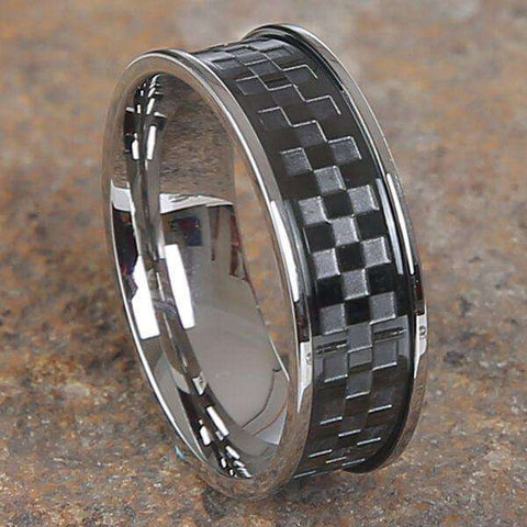 Mad Man Kyler Stainless Ring