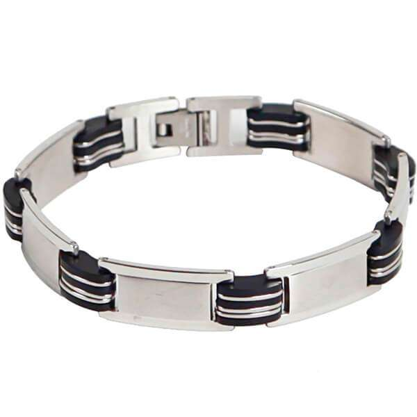 Mad Man Stainless Bracelet,Jewelry,Mad Man, by Mad Style