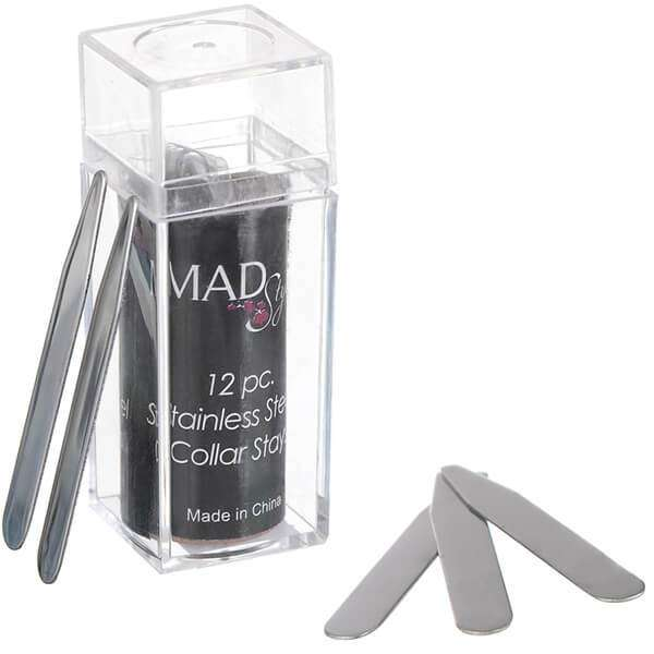 Mad Man Stainless Collar Stays,Ties,Mad Man, by Mad Style