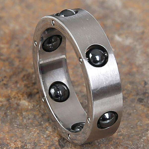 Mad Man Wolfe Stainless Ring