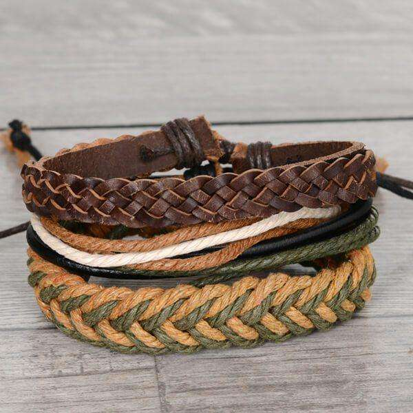 Mad Man Wrap Bracelet,Jewelry,Mad Man, by Mad Style