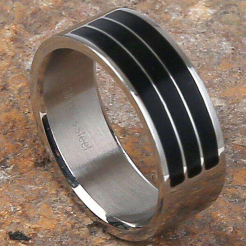 Mad Man Zane Stainless Ring