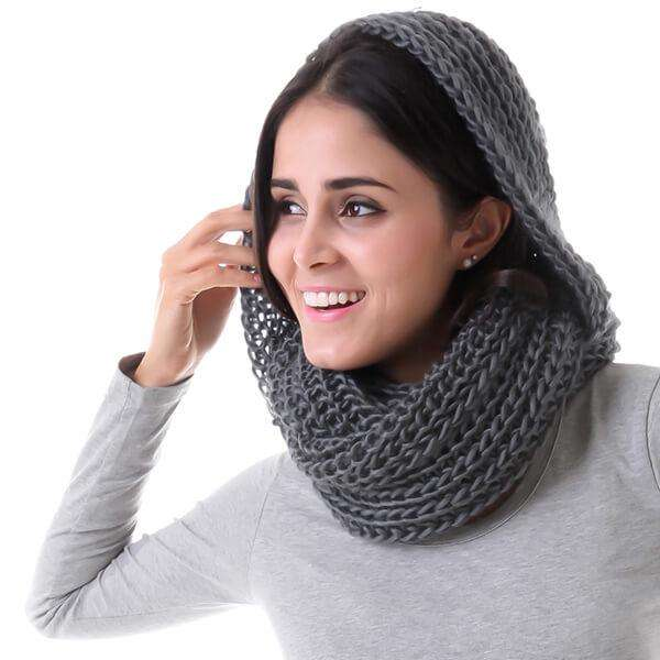 Madison Hood Scarf,Heavy Scarves,Mad Style, by Mad Style