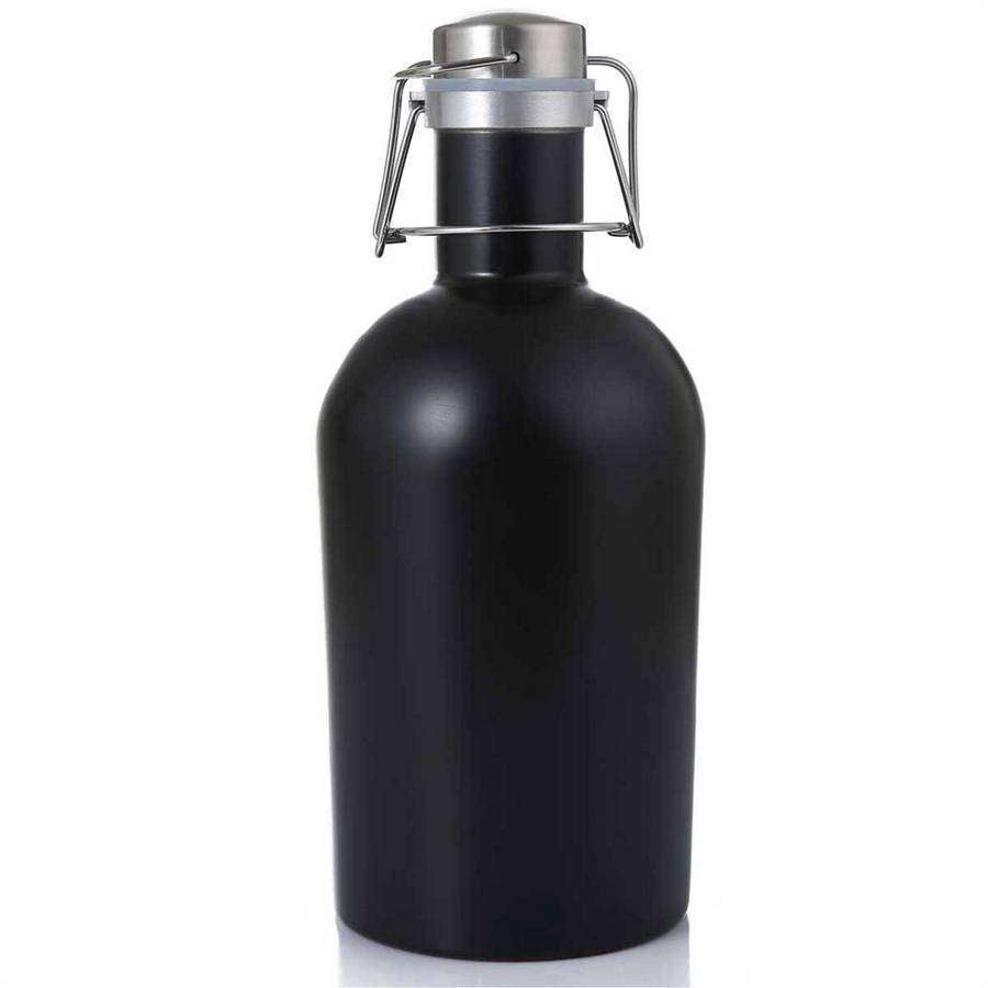 Matte 64 Oz Beer Growler,Drinkware,Mad Man, by Mad Style