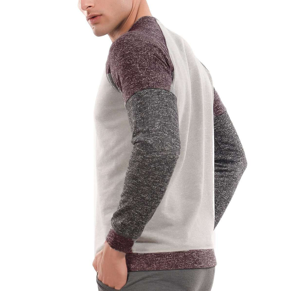 Mens 3 Toned Sweatshirt,Apparel,Mad Man, by Mad Style