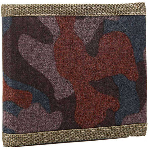Mens Canvas Camo Wallet