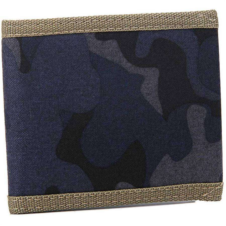 Mens Canvas Camo Wallet,Wallets and Clips,Mad Man, by Mad Style