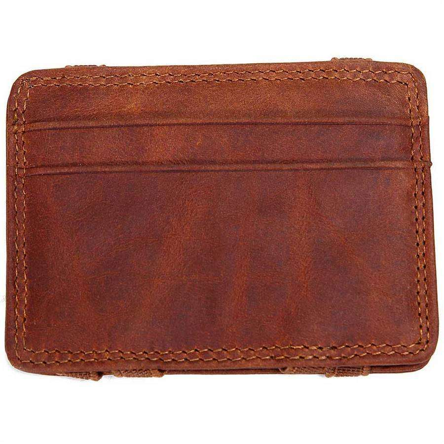Mens Leather Flip Wallet,Wallets and Clips,Mad Man, by Mad Style
