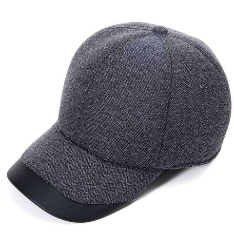 Mens Wool Ball Cap