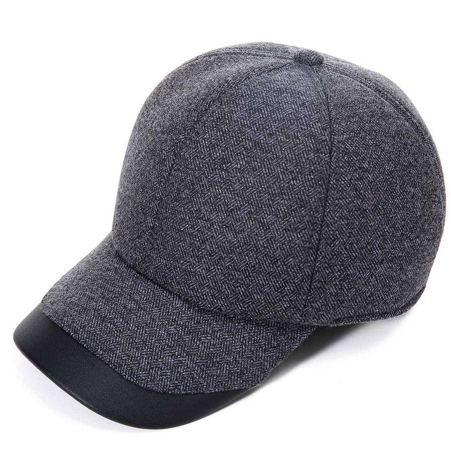 Mens Wool Ball Cap,Winter Gear,Mad Man, by Mad Style