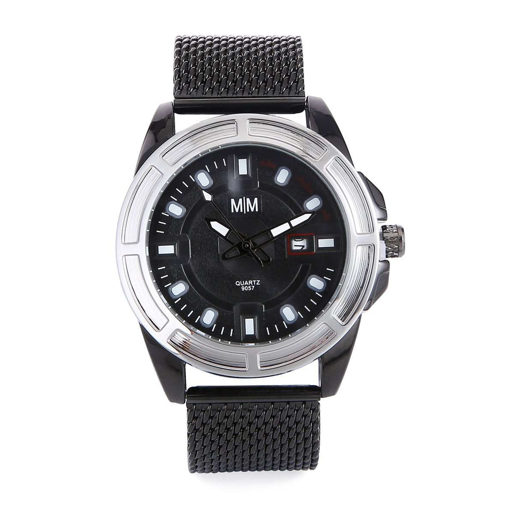 Mesh Staninless Mens Watch,Watches,Mad Man, by Mad Style