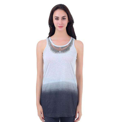 Metallic Gradient Tank Top
