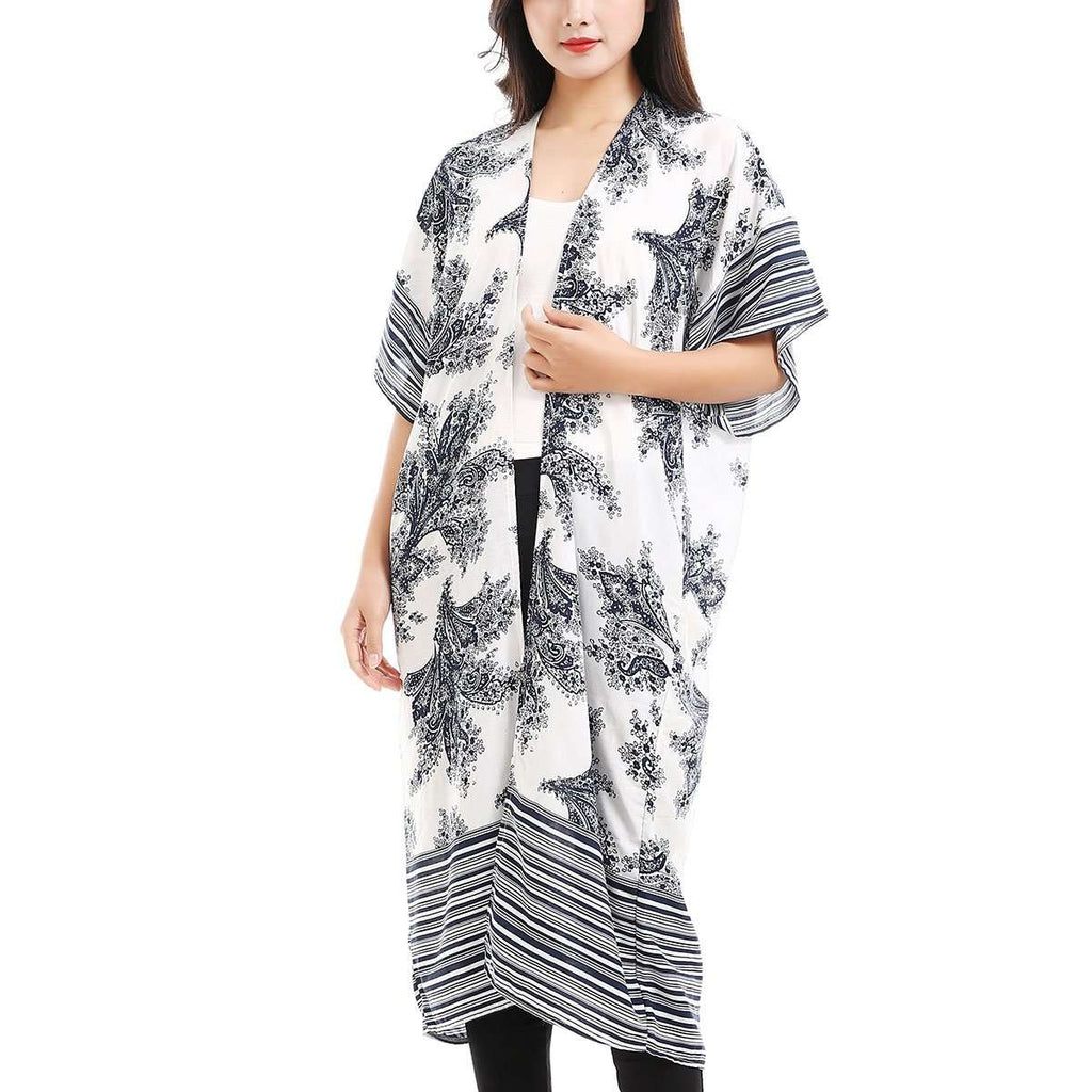 MonoChrome Kimono,Outerwear,Mad Style, by Mad Style
