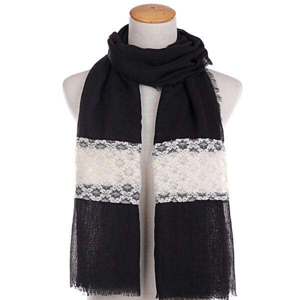 Nori Retro Scarf,Heavy Scarves,Mad Style, by Mad Style