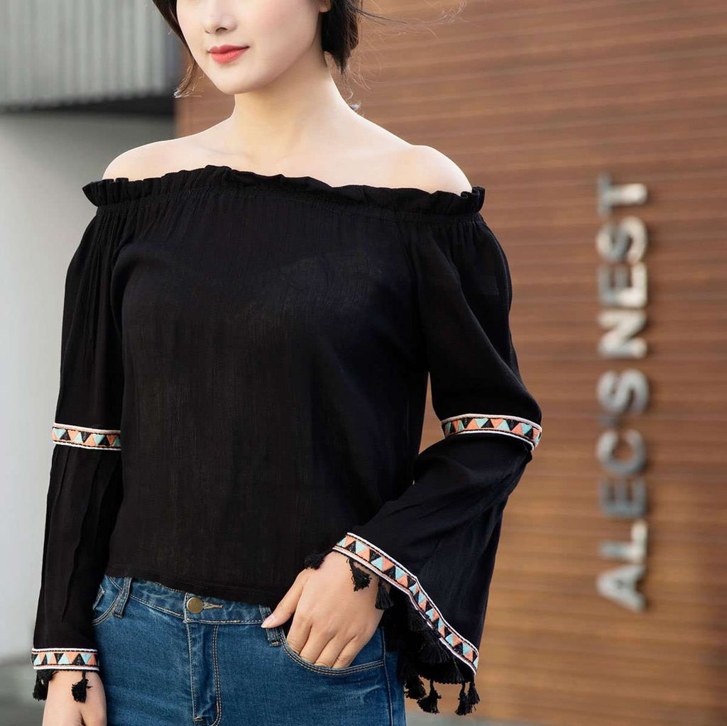 Off The Shoulder Top,Tops,Mad Style, by Mad Style