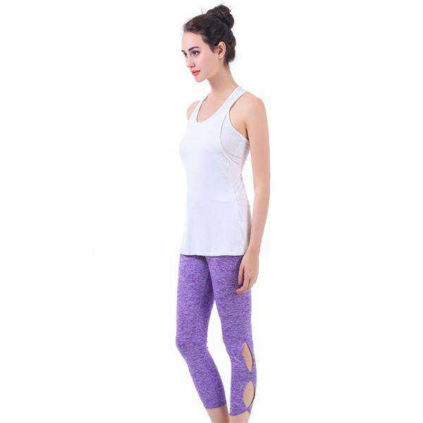Open Ankle Capri Pants,Activewear,Mad Style, by Mad Style
