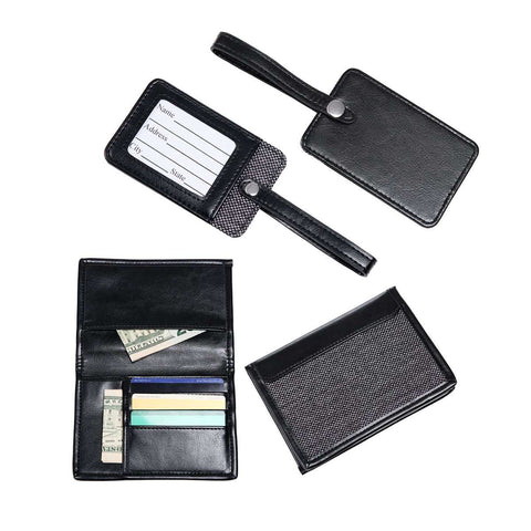 Passport & Luggage Tag Set