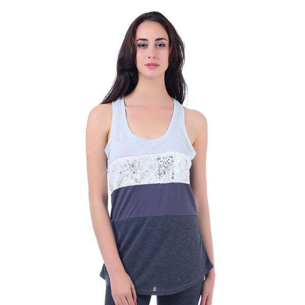 Patchwork Color Block Tank Top,Tops,Mad Style, by Mad Style