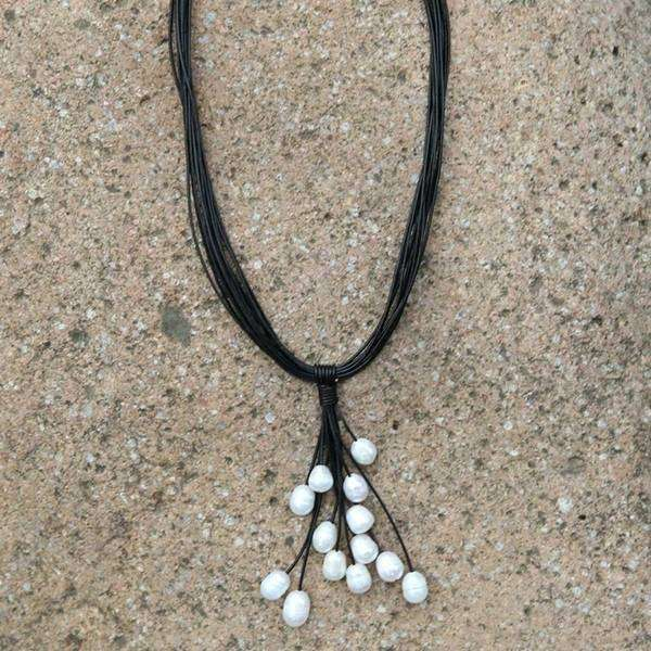 Pearl Clustered Choker Necklace
