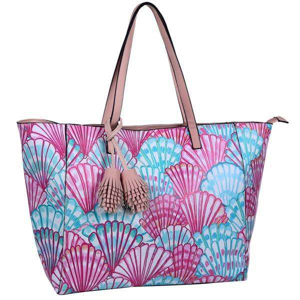 Pink Flamingo Vivid Tote Bag,Totes,Mad Style, by Mad Style